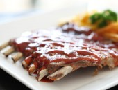 Full-Rack Barbecue Baby-Back Ribs